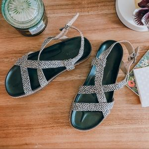 Madewell Piper Lugsole Sandals 8.5